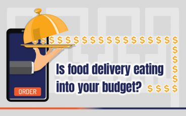 Is food delievery eating into your budget?